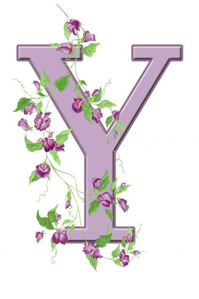 letter y floral initial free stock photo domain