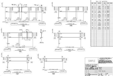 beam plans autosd steel detailing beams columns