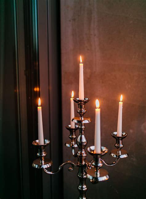 Kerzenstaender Silber Gross by Silber Gro 223 Liebevoll Events