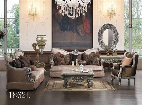 luxurious living room sets luxurious traditional style formal living room set hd 1862l
