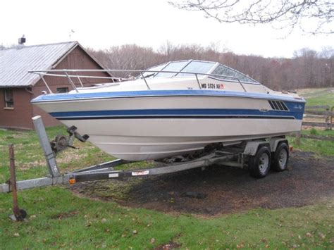 1987 Sea Cuddy Cabin by 1987 Sea 21 Seville Cuddy Cabin Boat Trailer