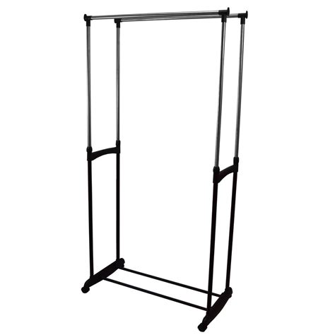 Cheap Garment Rack by Garment Rack Clothes Adjustable Portable Hanging Rail By Home Discount Ebay