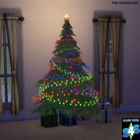 christmas tree lighting speech sles sims 4 cc s the best tree and lights by simista sims 4 cc s the best