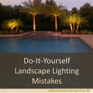 Making A Backyard Garden Top 3 Diy Landscape Lighting Mistakes Orlando Landscape