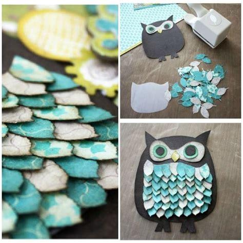Paper Owls Crafts - 6 diy owl paper craft 7 diy owl crafts to make