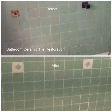 Bathroom Tile And Grout Repair Ceramic Tile And Grout Restoration Legs Surface