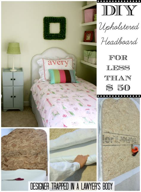 how to make a twin headboard upholstered diy upholstered headboard for less than 50
