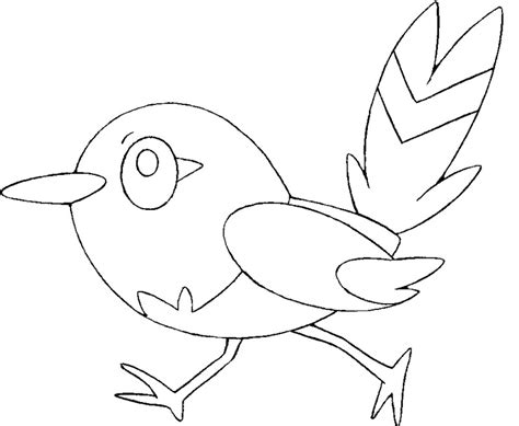 Pokemon Coloring Pages Fletchling | coloring pages pokemon fletchling drawings pokemon