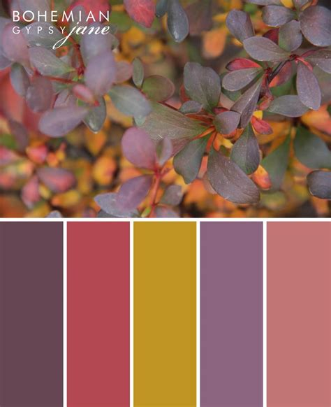 bohemian color scheme best 25 fall color palette ideas on pinterest fall