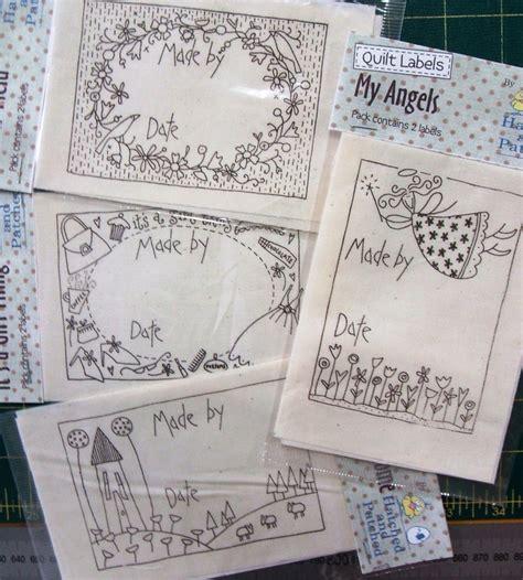 design a quilt label quilt labels leuke stijl tekeningen quiltlabels