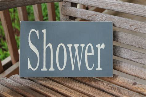 rustic bathroom signs shower wood sign rustic bathroom sign bathroom wall art
