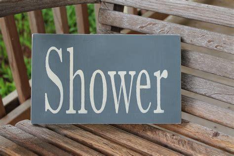 Rustic Bathroom Signs Shower Wood Sign Rustic Bathroom Sign Bathroom Wall