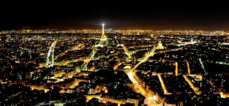 The City Of Light by City Of And Lights Capital Of Travel