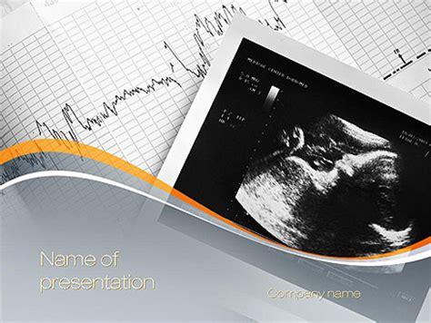 stress test card template fetal non stress test powerpoint template backgrounds