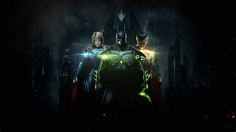 Second injustice 2 story trailer drops reveals green