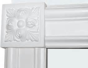 decorative window moulding door trim and corner block for door trim