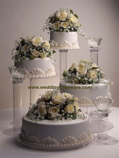wedding cake three tier stand 4 tier cascading wedding cake stand stands 3 tier candle