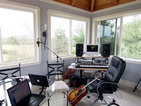 home office and studio designs computer setups