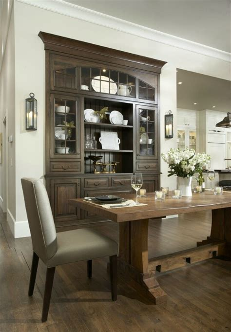 Built In Dining Room Cabinets 32 Dining Room Storage Ideas Decoholic