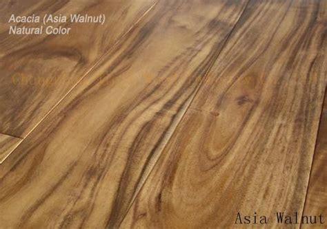 Asian walnut(Acacia) flooring Natural color (China