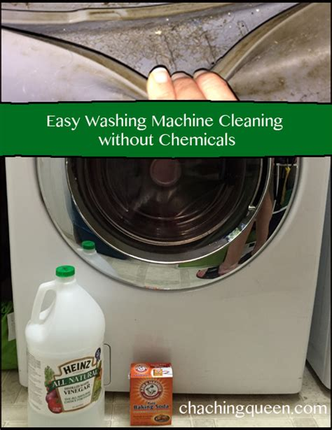 front load washer cleaner guide on how to clean washing machine with vinegar and baking soda
