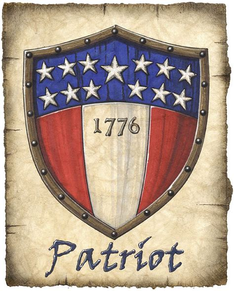 american revolution flag 1776 american patriot heraldic shield patriot usa by geographicsart