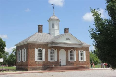 post office picture of colonial williamsburg