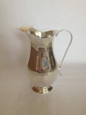 Of Sheffield Mba Reviews by Sheffield Silver Co Silver Plate Water Pitcher Lot 139