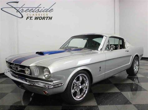 restomod mustang fastback for sale 1965 ford mustang fastback restomod for sale classiccars
