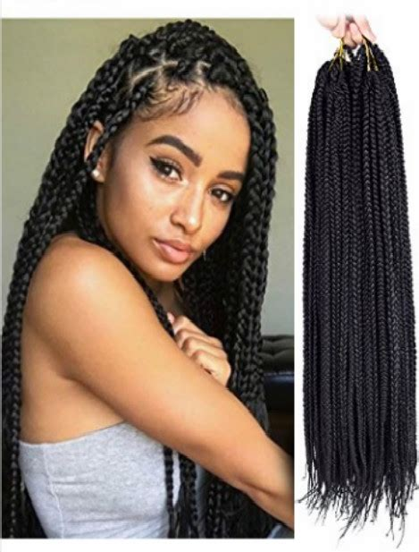 Jumbo X Hair Senegalese | 30strands pack synthetic hair extensions crochet braids