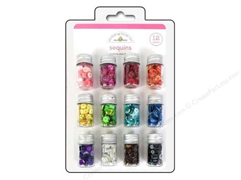 doodlebug sequins doodlebug sequins assorted rainbow createforless