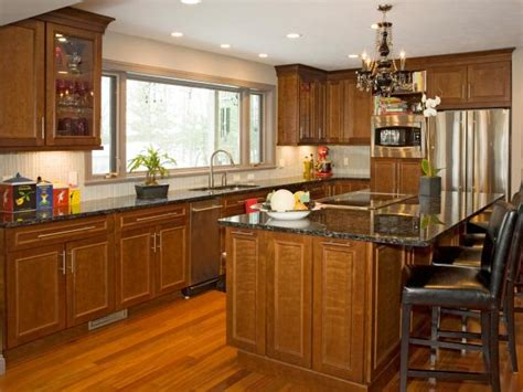 granite topped kitchen island photo page hgtv