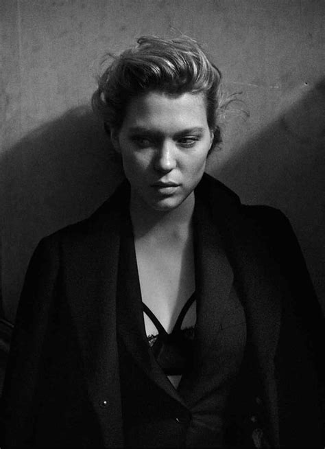 lea seydoux pirelli lea seydoux by peter lindbergh for interview magazine