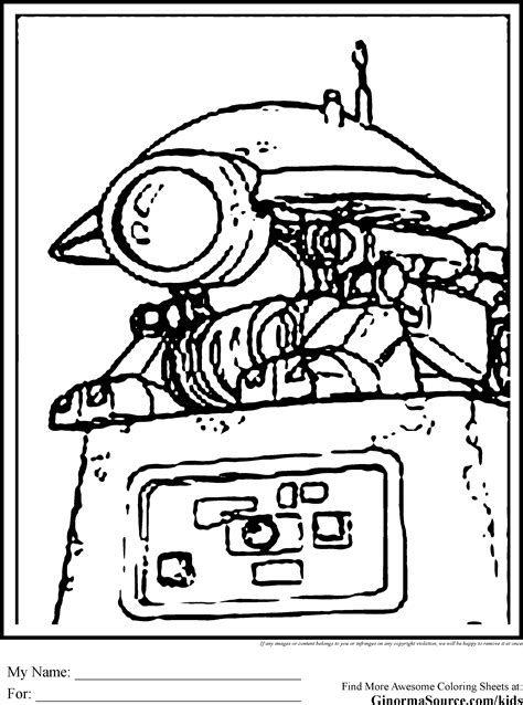 star wars droid coloring page star wars colouring pages pit droid ginormasource kids