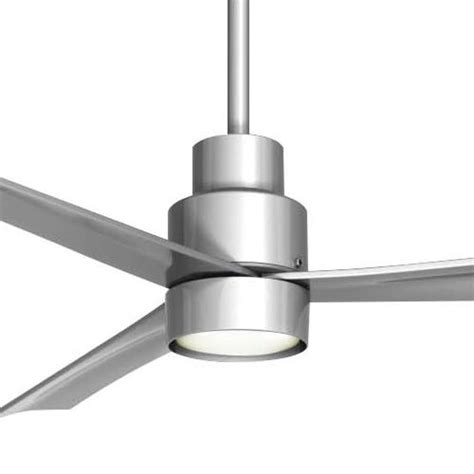 minka aire simple ceiling fan minka aire simple ceiling fan f787 sl k9787l sl in silver