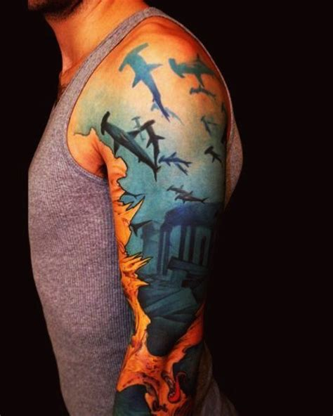 all city tattoo waters mystery lost city best ideas