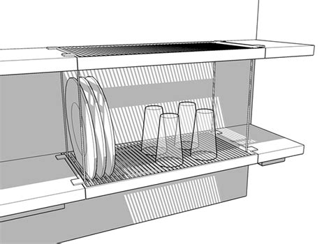 Dish Drying Shelf by Dish Drying Rack On Behance