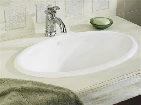 Amazing Bathroom Sinks by Lavatory Sink Drop In Steel X Oval Bone Modern Bathroom