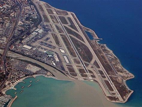amazing aerial view of airport runways