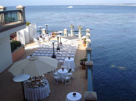 outside wedding venues in monterey ca monterey plaza hotel spa monterey ca wedding venue