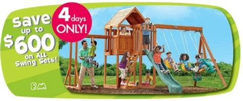 toys r us swing set sale toys r us up to 600 off swing sets