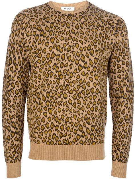 Leopard Print Pullover sweater leopard print sweater vest