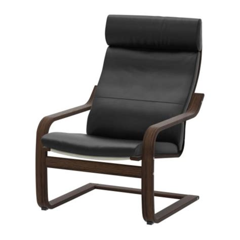 Leather Armchairs Ikea by Po 196 Ng Armchair Smidig Black Brown Ikea