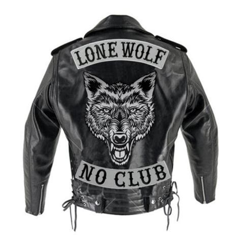 Jaket Nevada Original New Arrivals vegasbee 174 no club reflective embroidered iron on patch