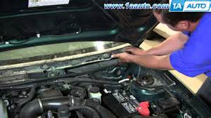 how to install replace windshield wiper transmission 1991