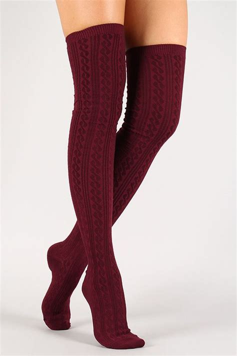 solid twist thigh high socks thigh high socks socks