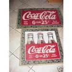 coca cola kitchen rug htf 2 coke coca cola bottle bath kitchen mat rugs