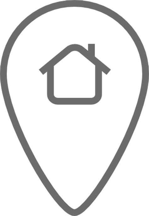 Haus Icon by Pin Lage Haus Symbol Kostenlos Outline Icons