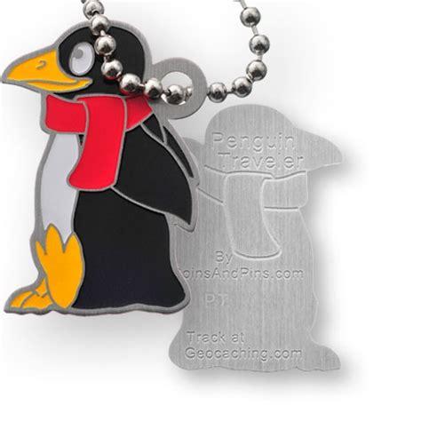 Traveller Pinguin penguin traveler tag