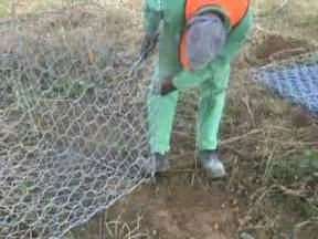 Diy Raised Garden Beds Gabion Installation Video Youtube